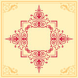 Floral ornament design element border Stock Photos