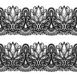 Floral ornament line Royalty Free Stock Photo