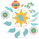 Floral ornament pattern,  image Royalty Free Stock Photo