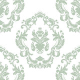 Floral ornament pattern with lilies flowers Royalty Free Stock Image