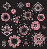 Floral Ornament Pattern Stock Images