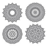 Floral Ornament Pattern Stock Photography