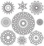 Floral Ornament Pattern Royalty Free Stock Photography