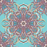Floral ornament, seamless pattern. Vector image Royalty Free Stock Images