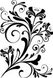 Floral ornament - vector illustration Stock Photo