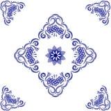 Floral ornamental. Floral ornamental decorative frame Stock Image