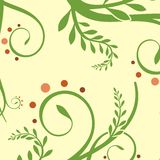 Floral ornamental background Royalty Free Stock Image