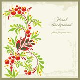 Floral Ornamental Background in Vintage Style Royalty Free Stock Photos