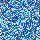 floral ornamental seamless pattern Stock Images