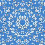 Floral Ornamental Seamless Pattern Royalty Free Stock Photography