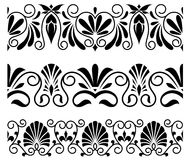 Floral ornaments and embellishments Royalty Free Stock Photo