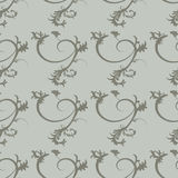 Floral ornaments pattern Royalty Free Stock Images
