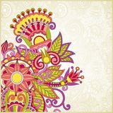 Floral ornate background Royalty Free Stock Image