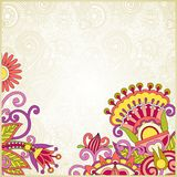 Floral ornate background Stock Photo