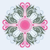 Floral ornate background Stock Photography