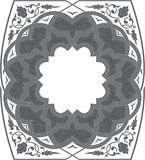 Floral Ornate Frame royalty free stock photo