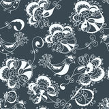 Floral ornate traditional seamless Royalty Free Stock Image