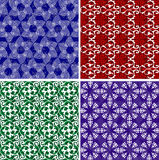 Floral and other backgrounds. Floral and other pattern ornate background illustrations Stock Image