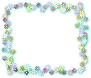 Floral Page Border Royalty Free Stock Photo