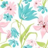 Floral paint Stock Photo