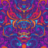 Floral paisley seamless pattern Stock Photo