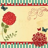 Floral Paper Stock Photos