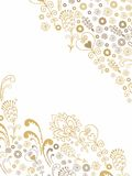Floral paper decoration Royalty Free Stock Photography