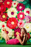 Floral paradise Royalty Free Stock Photography