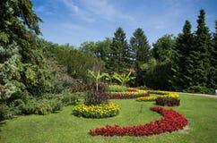 Floral park Stock Photo