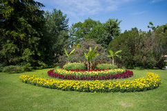 Floral park Stock Images