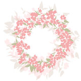 Floral pastel background Royalty Free Stock Photo