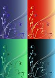 Floral pattern. Of any color. EPS file attached Stock Photos