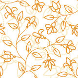 Floral pattern. You can use this repeating pattern to fill your own custom shapes and backgrounds Stock Photos