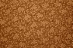 Floral pattern. Ed background in sepia tone Royalty Free Stock Photos