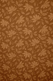 Floral pattern. Ed background in sepia tone Stock Photography