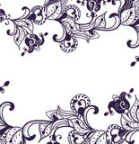 Floral pattern. Beautiful floral pattern of the various elements Royalty Free Stock Photography