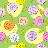 Floral pattern. Seamless vector background vector illustration