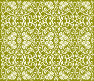 Floral pattern -. Floral pattern  in green Stock Images
