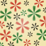 Floral_pattern 免版税库存照片