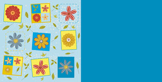 Floral pattern. Illustration of floral vector pattern Stock Photo