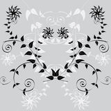 Floral pattern. Vector floral pattern. It is possible to use as a seamless texture Royalty Free Stock Photography
