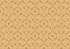Floral pattern. The complex pattern. Vector image Stock Photos