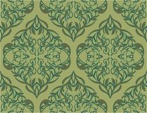 Floral pattern. Seamless floral pattern vector background Stock Photography