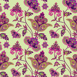 Floral pattern. Abstract flower seamless background. Floral seamless pattern. Abstract flower background. Floral seamless texture with flowers in oriental style Royalty Free Stock Photo