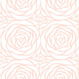 Floral pattern. Abstract seamless vector pattern. Royalty Free Stock Photos