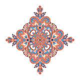 Floral pattern. Arabic ornament with fantastic flowers and leave Stock Images