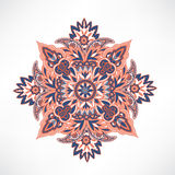 Floral pattern. Arabic ornament with fantastic flowers and leave Royalty Free Stock Photos