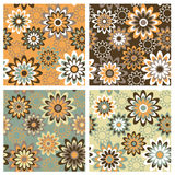Floral Pattern_Autumn royalty free illustration