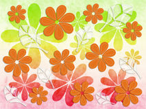 Floral Pattern Autumn royalty free illustration