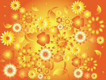 Floral pattern background Royalty Free Stock Photography